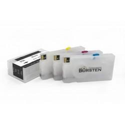 Перезаправляемые картриджи Bursten Nano 2 для HP OfficeJet PRO 8100, 8600, 8610, 251DW, 276DW (картридж HP 950/951), с авто-чипами