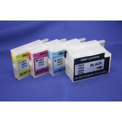 Перезаправляемые картриджи для HP OfficeJet 6100, 6600, 6700, 7110, 7610 (картридж HP 932/933), с чипами