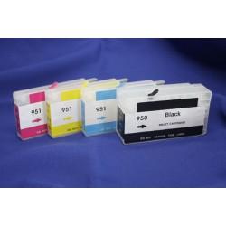 Перезаправляемые картриджи (ПЗК) для HP OfficeJet PRO 8100, 8600 (картридж HP 950/951), с чипами