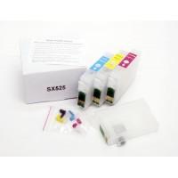 Перезаправляемые картриджи IST для Epson SX525WD, 4 шт.