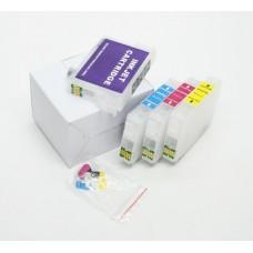 Совместимые перезаправляемые картриджи для принтеров Epson Expression Home XP-313, XP-413