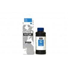 Российские совместимые синие чернила Блок Блэк для Canon, CL-511/513, 100 гр.