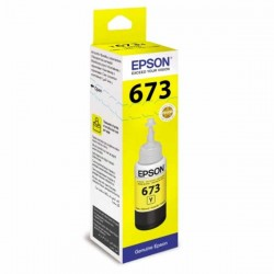 Оригинальные чернила Epson L800 / L805 / L810 / L850 / L1800, yellow, 70 мл