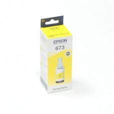 Оригинальные желтые (yellow) чернила T6734 для Epson L800 / L805 / L810 / L850 / L1800, контейнер 70 мл.
