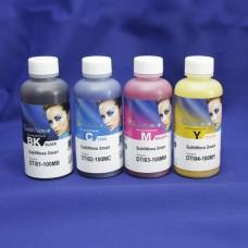 Комплект сублимационных чернил InkTec для 4-х цветных принтеров Epson