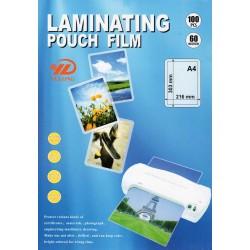 Пленка для ламинирования A4, 60 мкм, 100 шт. (YULONG)
