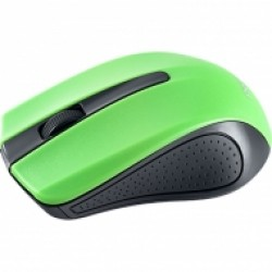 Мышь беспроводная оптическая Perfeo PF-353-WOP, зелено-черная