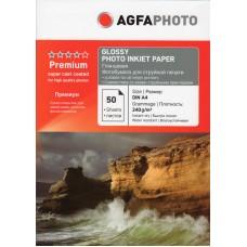 Фотобумага для принтеров Agfa, глянцевая A4, 240 (50 листов)