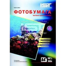 Матовая односторонняя фотобумага IST, А4 / 108 / 100 листов