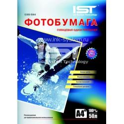Фотобумага для струйных принтеров IST, глянцевая A4, 180 (100 листов)