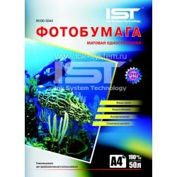 Фотобумага для струйных принтеров IST, матовая A4, 190 (50 листов)