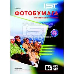 Фотобумага для струйных принтеров IST, глянцевая A4, 240 (50 листов)