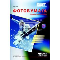 Фотобумага для струйных принтеров IST, глянцевая 4R (102x152), 180 (600 листов)