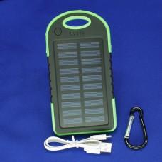 Внешний аккумулятор / Power Bank, емкость 8000 мАч, цвет зеленый