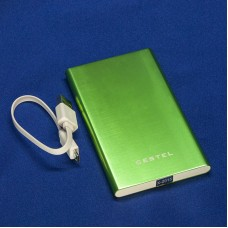 Внешний аккумулятор / Power Bank, Cestel, емкость 6000 мАч с металлическим корпусом