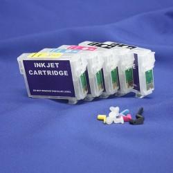 Перезаправляемые картриджи IST для Epson T1100, 5 шт.