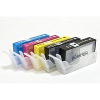 Перезаправляемые картриджи Bursten Nano 1 для принтеров HP использующих картриджи 178, 5 шт.