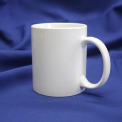 Кружка керамическая для сублимации (серия Люкс), белая
