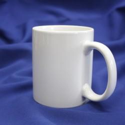 Кружка для сублимации керамическая (серия Премиум), белая