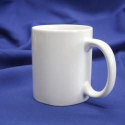 Кружка керамическая для сублимации (серия Стандарт), белая